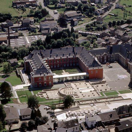 1. Abbaye de Stavelot vue aérienne