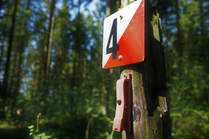 Orientierungslauf im Wald ©An Van Rie