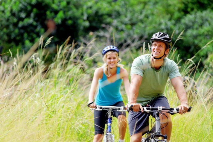 Radfahren in Worriken